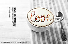 Coffee leisure ppt template