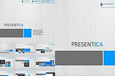 English Business PPT template
