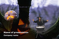 Halloween horror ppt template