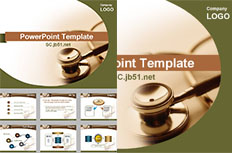 Medical Devices PPT template free download