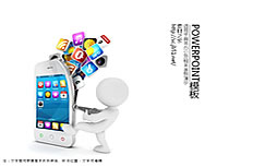 Smart phones ppt template