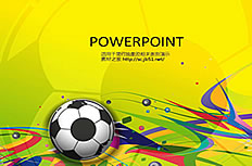 Sports Football ppt background image